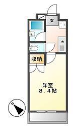シティライフ打越[4階]の間取り