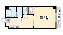 エスタール兵庫[3階]の間取り
