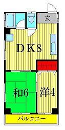 東澤マンション[2階]の間取り