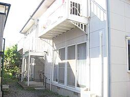 栃木県宇都宮市桜2丁目の賃貸アパートの外観