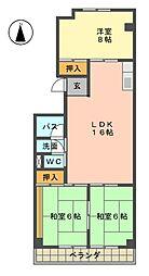 メゾン柴田[1階]の間取り