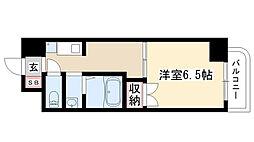 愛知県名古屋市瑞穂区瑞穂通5の賃貸アパートの間取り