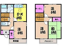 [テラスハウス] 愛媛県松山市和泉南6丁目 の賃貸【/】の間取り
