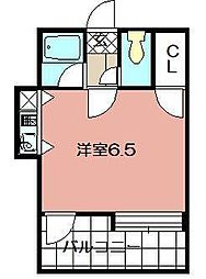 ピュアドーム博多アベール(702)[702号室]の間取り