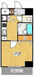 アデッソ新宿若松町[1002号室号室]の間取り