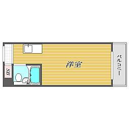 東京都文京区大塚4丁目の賃貸マンションの間取り