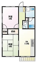 カシヤ第2ビル[2階]の間取り