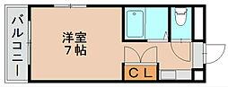 アバンセ松島[2階]の間取り