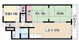 愛知県名古屋市熱田区金山町1丁目の賃貸マンションの間取り
