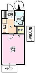 長野県長野市大字長野狐池の賃貸アパートの間取り