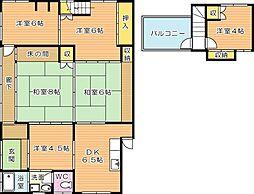 [タウンハウス] 福岡県北九州市八幡西区八千代町 の賃貸【/】の間取り