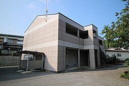 栃木県鹿沼市日吉町の賃貸アパートの外観