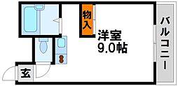ガーデンプレイス太宰府[105号室]の間取り