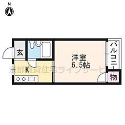 メゾンクレール[305号室]の間取り
