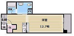 エクセルコート布施タワー[5階]の間取り