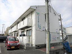 大阪府門真市北岸和田2丁目の賃貸アパートの外観