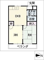 CENTURY PLAZA[3階]の間取り