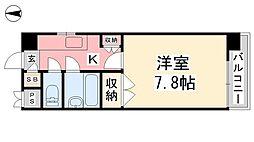 ジョイフル第1朝生田[310号室]の間取り