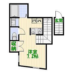hacco house[2階]の間取り