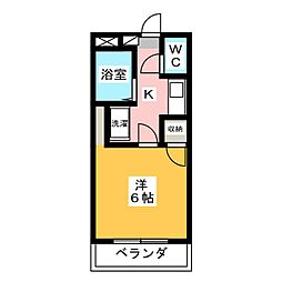 フォルム南福岡II[1階]の間取り