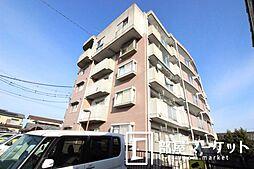 愛知県豊田市桝塚西町南山の賃貸マンションの外観