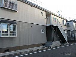 兵庫県姫路市西中島の賃貸アパートの外観