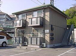 広島県尾道市潮見町の賃貸アパートの外観