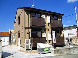 千葉県木更津市真舟4の賃貸アパートの外観