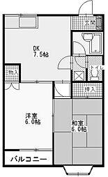 セントラル千代ヶ丘[2階]の間取り