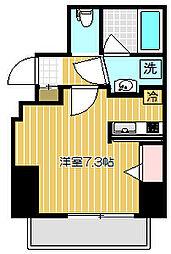 東京都品川区戸越4丁目の賃貸マンションの間取り