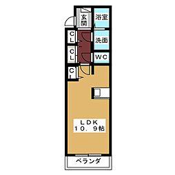 ルミナス大幸[3階]の間取り