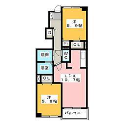 川越富洲原駅 5.7万円
