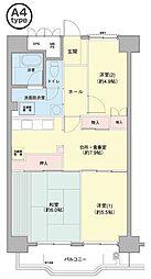 横浜若葉台[3-8-1107号室]の間取り