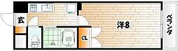 メゾンOM[4階]の間取り