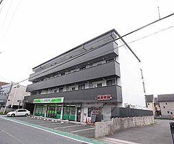 京都府京田辺市河原受田の賃貸マンションの外観