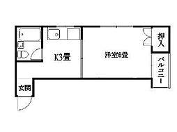 騎射場駅 2.5万円