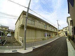 兵庫県宝塚市山本丸橋1丁目の賃貸アパートの外観