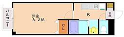 エトワールハスバ1[2階]の間取り