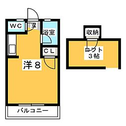 ネクス貝塚[1階]の間取り