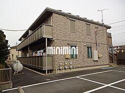 静岡県浜松市南区小沢渡町の賃貸アパートの外観