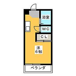 スペースタウン鶴田[2階]の間取り