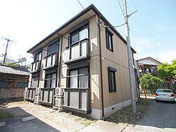 埼玉県川越市岸町1丁目の賃貸アパートの外観