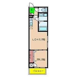 Fmaison verdeII[102号室号室]の間取り