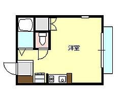 セイントピア茅ヶ崎9 101[1階]の間取り