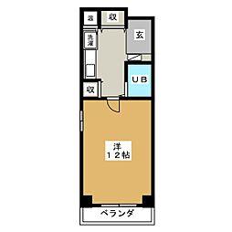 マンション セブンエス[1階]の間取り