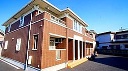 埼玉県熊谷市高柳の賃貸アパートの外観