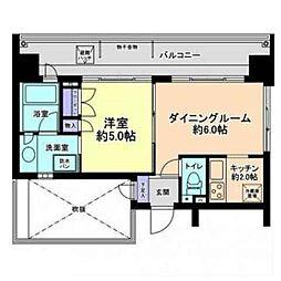 渋谷常盤松ハウス[4階]の間取り