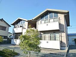 静岡県浜松市東区市野町の賃貸アパートの外観