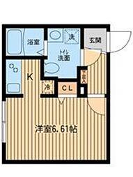 ZESTY幡ヶ谷[4階]の間取り