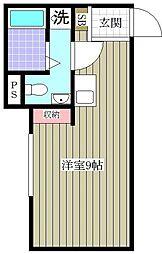 Villa Ange[2階]の間取り